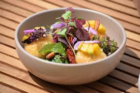 farm to pool at six senses laamu a menu as fresh and organic as it
