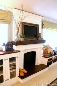 Ways To Decorate A Fireplace Mantel by Best 25 Tv Fireplace Ideas On Pinterest Fireplace Tv Wall