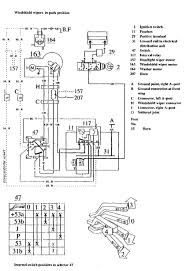 volvo 740 1990 u2013 1991 u2013 wiring diagrams u2013 wiper washer
