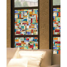 interior window tinting home artscape 24 in x 36 in montage decorative window film 01 0148