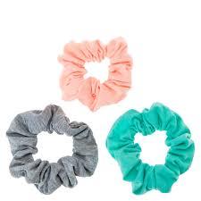 hair scrunchies blush mint and grey hair scrunchies s
