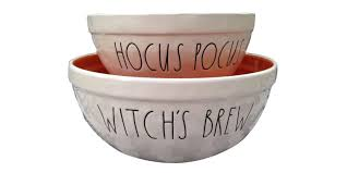 Rae Dunn Tj Maxx Rae Dunn Hocus Pocus Nesting Bowls Are Going For 300 On Ebay