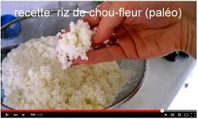 comment cuisiner du riz comment faire du riz de chou fleur vidéo de ma recette de riz
