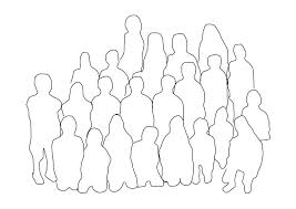 coloring pages of people coloring page group of people class img 18730