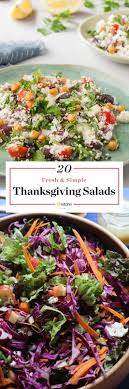20 fresh and vibrant salads for thanksgiving dinner kitchn