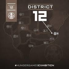 Hunger Games Minecraft Map Hunger Games Districts Map My Blog