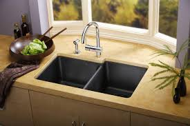 gray stainless kitchen sink for elegant kitchen fixtures with