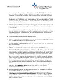 Caritas Krankenhaus Bad Mergentheim Informationen Zum Pj Das Caritas Bad Mergentheim