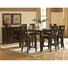 dining room sets tables chairs dining room furniture sets crosspointe dining counter table 4 chairs cp700