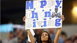 why do the lions and cowboys play on thanksgiving si