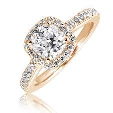 gold cushion cut engagement rings br cushion cut engagement ring with diamond halo diamond studded