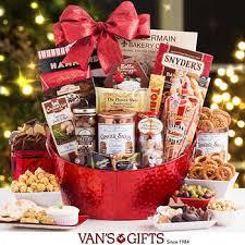 Food Gift Baskets Christmas - gift baskets costco