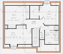 plan maison gratuit plain pied 3 chambres plan maison etage 4 chambres gratuit mobokive org