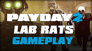 halloween lab payday 2 lab rats halloween heist gameplay youtube