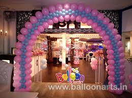 Decoration Ideas For Naming Ceremony Name Ceremony Balloon Decoration Balloon Arts