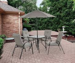 Outdoor Patio Dining Sets With Umbrella Patio Furniture Big Lots