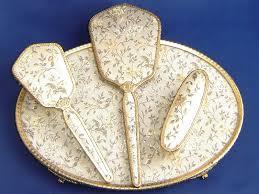 Dressing Table Sets Vintage Vintage Regency Of London Ladies Dressing Table Set Ebay ручные