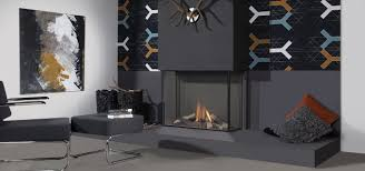trisore 100h by element4 modern 3 sided fireplace direct vent gas