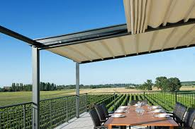 Motorized Awnings Freestanding Motorized Awning Pareo By Frigerio Tende Da Sole