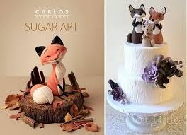 woodland cake toppers wildlife inspired autumn cakes cake magazine