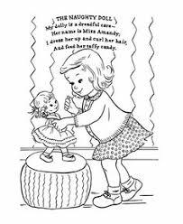 jack jill nursery rhyme coloring hand embroidery