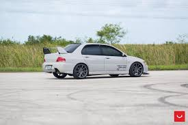 subaru evo vossen wheels mitsubishi evo vossen flow formed series vfs1