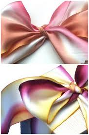 silk ribbon dyed silk ribbon bouquet wraps floret cadet