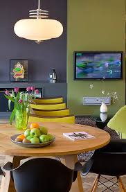 gray blue paint colors dining room contemporary with olive green