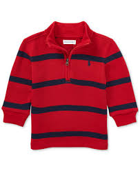 baby boy sweater ralph half zip striped sweater baby boys sweaters