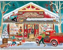 retro christmas cards retro christmas card etsy