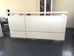 Small White Reception Desk Reception Desk White Zoom Small White Salon Reception Desk