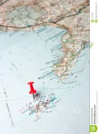 Capri Italy Map by Capri Island On A Map Stock Photo Image 51151568