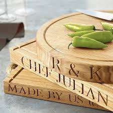 personalised cutting board personalised oak chopping board