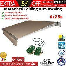 Folding Arm Awnings Ebay Folding Arm Marquees U0026 Tents Ebay