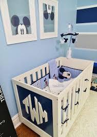 chambre bebe mickey decoracion habitacion bebe cincuenta diseños geniales chambres