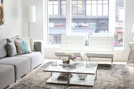 Living Room Furniture New York City Living Room Tour Fashionable Hostess