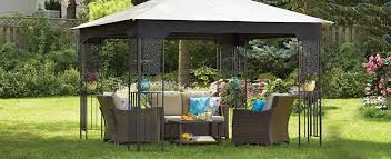 Awning Gazebo How To Choose A Gazebo Or Awning Canadian Tire