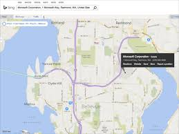Kirkland Washington Map microsoft stops collecting own map data sells part of business to