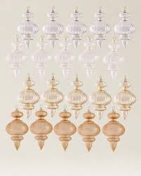 set of 35 silver and gold ornaments balsam hill
