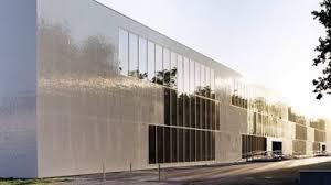 fassade architektur hochwertige fassade mit glasmosaik