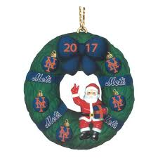 the 2017 annual mets ornament the danbury mint