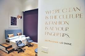 mani monday nail salon miniluxe opens in brentwood aims for fair