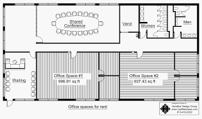 floor plan for office building commercial building floor plan home plans house plans 19539
