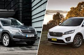 skoda kodiaq interior kia sorento v skoda kodiaq comparison review