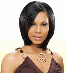 pictures women short hairstyles with weave