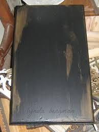 lynda bergman decorative artisan black distressed paint samples