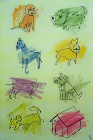 coloring book cats and dogs