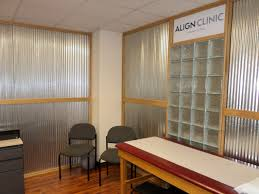 Exam Room Curtains Inside Wisconsin Align Clinic