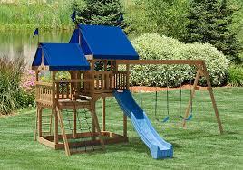 great fun tower backyard swing sets play mor swingset in ohio