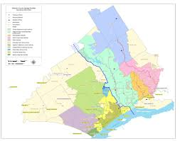 Delaware County Map Areas Served Delcora